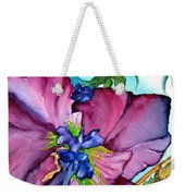 Sweet And Wild In Turquoise And Pink Weekender Tote Bag