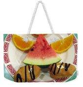 Sweet Angel 01 Weekender Tote Bag by Ausra Huntington nee Paulauskaite