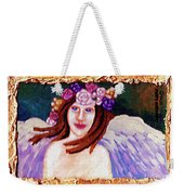 Sweet Angel Weekender Tote Bag by Genevieve Esson