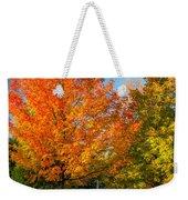 Sweet Autumn Weekender Tote Bag