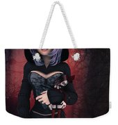 Sweet Betty With Gothic Doll Weekender Tote Bag