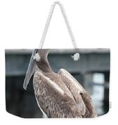 Sweet Brown Pelican - Digital Painting Weekender Tote Bag