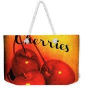 Sweet Cherries - Kitchen Art Weekender Tote Bag