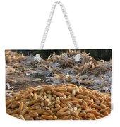 Sweet Corn And Husks Weekender Tote Bag