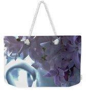 Sweet Cream Lilac Weekender Tote Bag