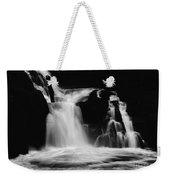 Sweet Creek Falls Oregon Monochrome Weekender Tote Bag