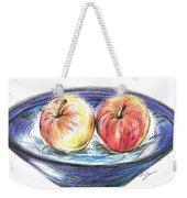 Sweet Crunchy Apples Weekender Tote Bag