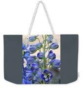 Sweet Delphinium Weekender Tote Bag