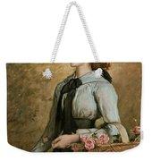 Sweet Emma Morland Weekender Tote Bag