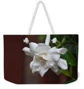 Sweet Gardenia Rain Weekender Tote Bag