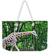Sweet Giraffe Weekender Tote Bag