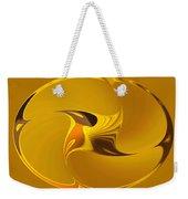 Sweet Golden Spinner Weekender Tote Bag