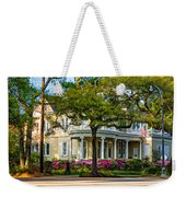 Sweet Home New Orleans Paint Weekender Tote Bag