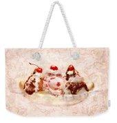 Sweet - Ice Cream - Banana Split Weekender Tote Bag
