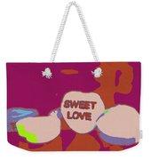 Sweet Love Candy Weekender Tote Bag