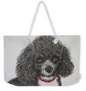 Sweet Miss Molly The Poodle Weekender Tote Bag