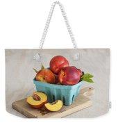 Sweet Nectarines Weekender Tote Bag