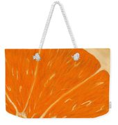 Sweet Orange Weekender Tote Bag