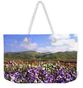 Sweet Peas Galore Weekender Tote Bag