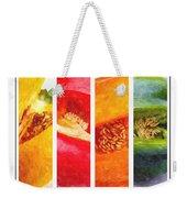 Sweet Pepper Watercolor Weekender Tote Bag