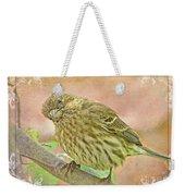 Sweet Pose Female Housefinch Weekender Tote Bag