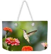Sweet Promise Hummingbird Weekender Tote Bag