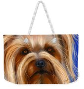 Sweet Silky Terrier Portrait Weekender Tote Bag