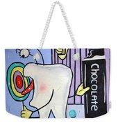 Sweet Tooth Weekender Tote Bag by Anthony Falbo