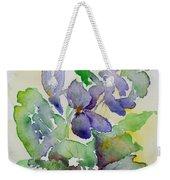 Sweet Violets Weekender Tote Bag