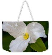 Sweet White Trillium 5 Weekender Tote Bag