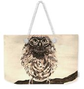 Sweetest Owl Weekender Tote Bag