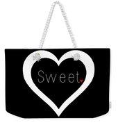 Sweetheart Weekender Tote Bag