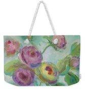 Sweetness Floral Painting Weekender Tote Bag