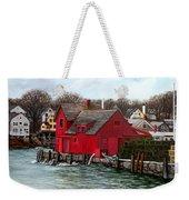 Swells In The Harbor Weekender Tote Bag