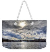 Swift Island Bridge 4 Weekender Tote Bag