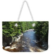 Swift River Below Rocky Gorge New Hampshire White Mountains Weekender Tote Bag