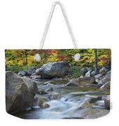 Swift River In Fall White Mountains New Weekender Tote Bag