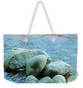Swift River Rock Kancamagus Highway Nh Weekender Tote Bag