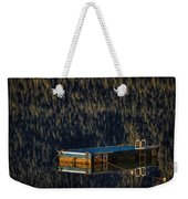 Swim Platform On Lake Quinault Weekender Tote Bag