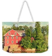 Swimming At War Eagle Weekender Tote Bag