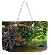Swimming Hole Weekender Tote Bag