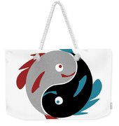 Swimming In Harmony Weekender Tote Bag by Anastasiya Malakhova