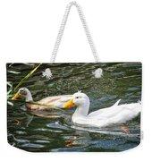 Swimming In The Pond Weekender Tote Bag