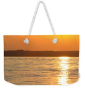 Swimming Into The Sun Weekender Tote Bag