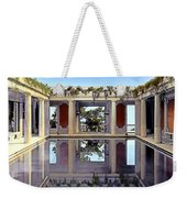 Swimming Pool Weekender Tote Bag