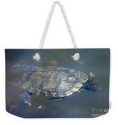 Swimming Turtle Weekender Tote Bag