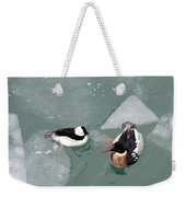 Swimming With Ice Weekender Tote Bag