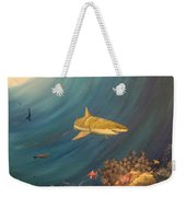 Swimming With Sharks Weekender Tote Bag