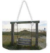 Swing On The Beach Weekender Tote Bag