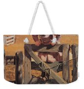 Swinging On A Gate Weekender Tote Bag